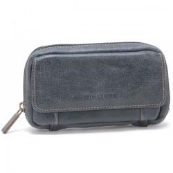 Pochette ceinture Arthur & Aston 62 602 D Noir-Maroquinerie Quey Charlieu