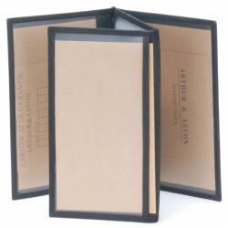 Porte papiers cuir Arthur & Aston - 94 984 Noir