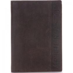 Portefeuille européen Arthur & Aston 1438 800 C Châtaigne Maroquinerie Quey Charlieu