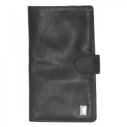 Porte Chéquier Arthur & Aston 576 636 A Noir-Maroquinerie Quey Charlieu