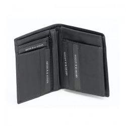 Portefeuille européen cuir Arthur & Aston - 576 801 A Noir-Maroquinerie Quey Charlieu