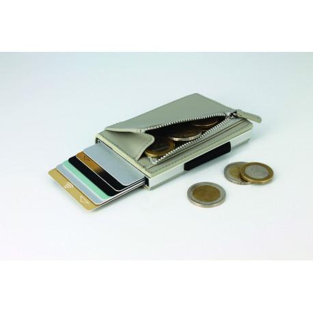 Porte cartes ÖGON DESIGNS CASCADE ZIPPER WALLET Blaster-Maroquinerie Quey Charlieu