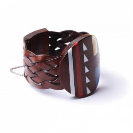 Bracelet Nature Bijoux collection Inlay