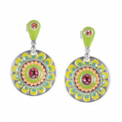 Boucles d'oreilles FRANCK HERVAL collection Lily Rose