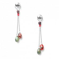 Boucles d'oreilles Katmandou Nature Bijoux