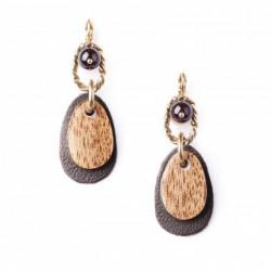 Boucles d'oreilles Nature Bijoux Collection Gavroche